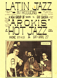 hot jazz poster